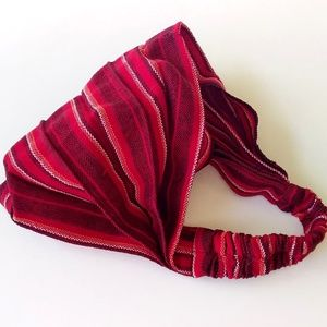 Hippie Headband Bandana RED 2